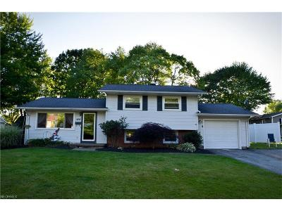 Canfield Single Family Home For Sale: 414 Hood Dr