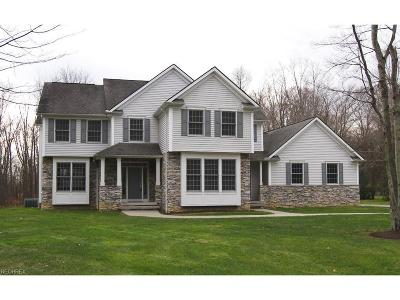 Chagrin Falls Single Family Home For Sale: 7909 Country Ln