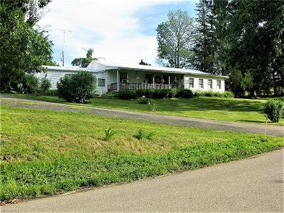 Muskingum County Single Family Home For Sale: 9390 Perryton Rd