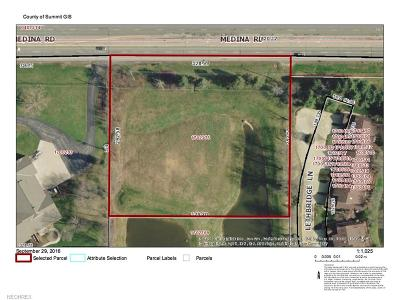 Copley Residential Lots & Land For Sale: 4520 Medina Rd