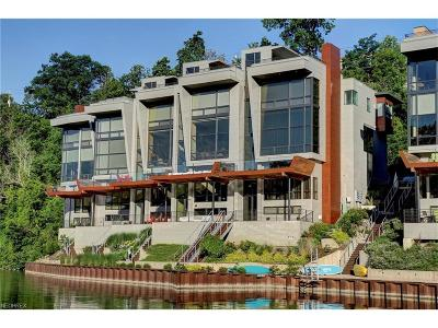 Rocky River Condo/Townhouse For Sale: 7 Eleven River Pl