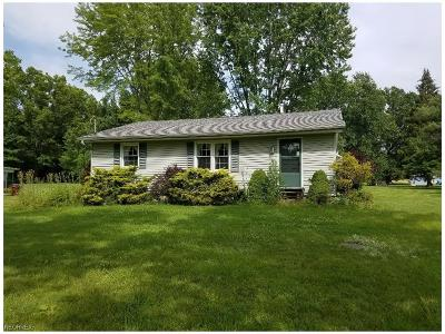 Southington OH Single Family Home For Sale: $114,000
