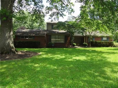 Warren Single Family Home For Sale: 1018 Melwood Dr Northeast