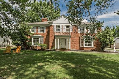 Shaker Heights Single Family Home For Sale: 38 Lyman Cir