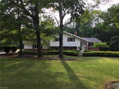 Willoughby Hills Single Family Home For Sale: 36851 Rogers Rd
