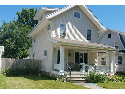 Elyria Single Family Home For Sale: 332 Cambridge Ave