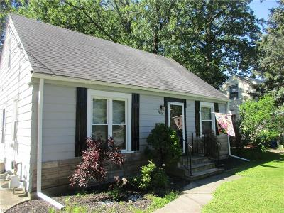 Painesville OH Single Family Home For Sale: $83,000
