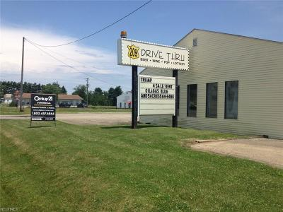 Guernsey County Commercial For Sale: 61074 Southgate Rd