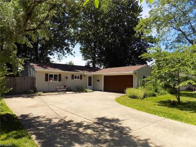 North Ridgeville Single Family Home For Sale: 34341 West Point Dr