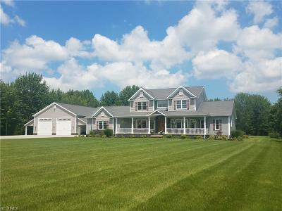Ashtabula County Single Family Home For Sale: 1797 State Route 167