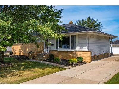 Parma Single Family Home For Sale: 5508 Loyola Dr