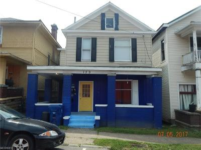 Guernsey County Multi Family Home For Sale: 129 North 6th St