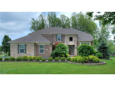 Geauga County Single Family Home For Sale: 7645 Cottonwood Trl