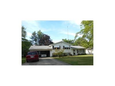 Canfield Single Family Home For Sale: 4550 Alderwood Dr