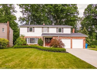 North Olmsted Single Family Home For Sale: 3893 Bristol Ln