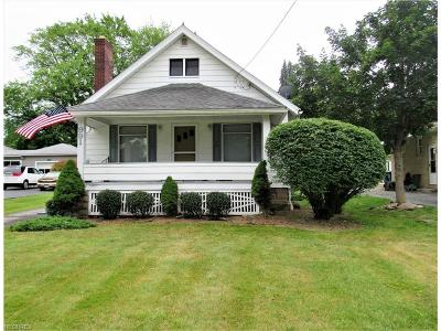 Hubbard Single Family Home For Sale: 991 West Liberty St