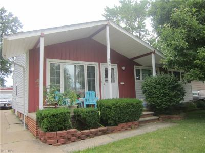 Maple Heights Single Family Home For Sale: 15817 Morning Star Ave