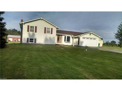 Chardon Single Family Home For Sale: 10477 Wilder Rd
