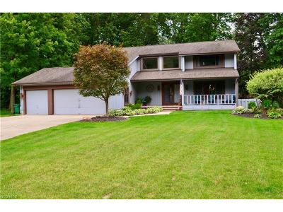 Mentor Single Family Home For Sale: 9136 Woodbury Ct