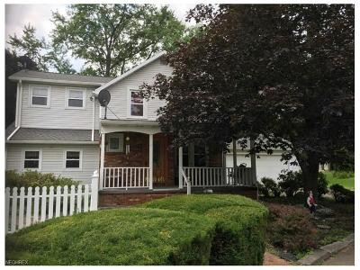 Canfield Single Family Home For Sale: 5175 Shields Rd