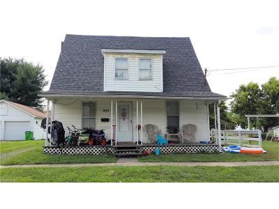 Belpre Single Family Home For Sale: 509 Florence Street
