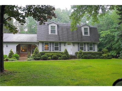 Concord Single Family Home For Sale: 7489 Kellogg Rd