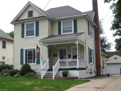 Painesville Single Family Home For Sale: 329 Rockwood Dr