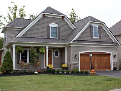 Chagrin Falls Single Family Home For Sale: S/L 33 Villa Ridge