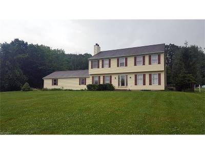 Geauga County Single Family Home For Sale: 12871 Ravenna Rd