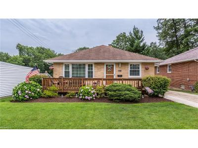 Wickliffe Single Family Home For Sale: 29312 Ashwood Dr