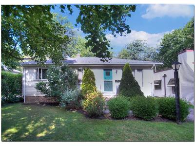 Bay Village Single Family Home For Sale: 474 Kenilworth Rd