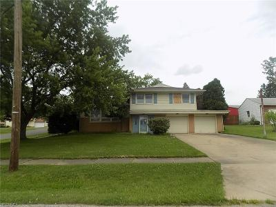 Girard Single Family Home For Sale: 402 Parkview Dr