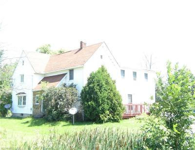 Geauga County Multi Family Home For Sale: 14405 Madison Rd