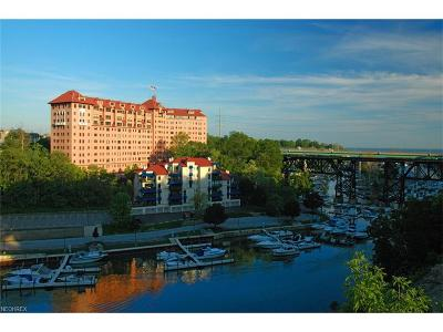 Rocky River Condo/Townhouse For Sale: 19000 Lake Rd #925