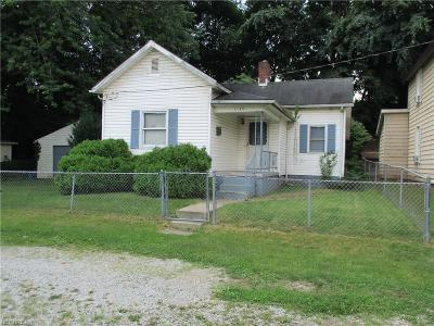 Zanesville Single Family Home For Sale: 1149 Parker Dr
