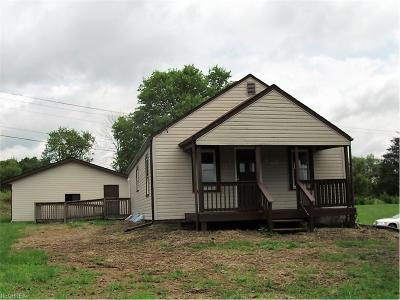 Muskingum County, Morgan County, Perry County, Guernsey County Single Family Home For Sale: 7625 Ridge Rd