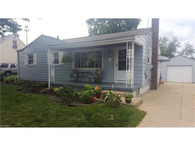 Struthers Single Family Home For Sale: 545 Creed St