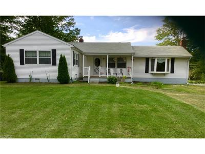 Painesville Single Family Home For Sale: 12821 Carter Rd