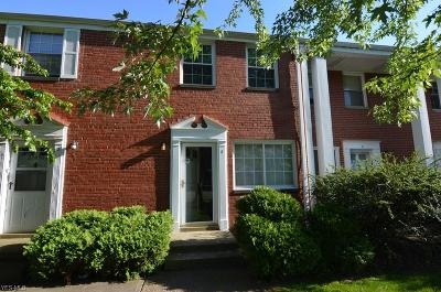 Euclid Condo/Townhouse For Sale: 22650 Fox Ave #I20