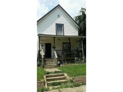 Canton OH Single Family Home For Sale: $44,900