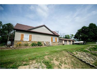 Guernsey County Single Family Home For Sale: 59511 Lost Rd