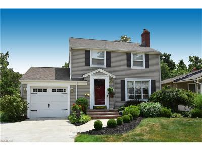 Bay Village Single Family Home For Sale: 365 Oakmoor Rd