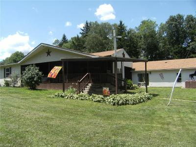 Guernsey County Single Family Home For Sale: 62319 North Westover Lane