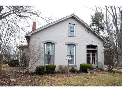 Single Family Home For Sale: 1895 Chandlersville Rd