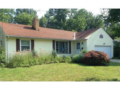 Rocky River Single Family Home For Sale: 22356 Berry Dr