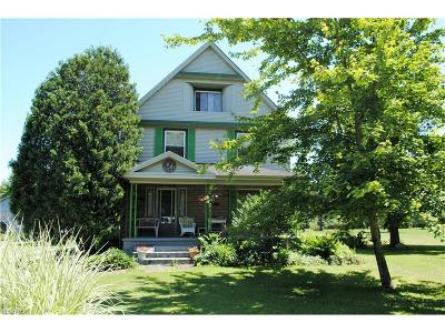 Girard Single Family Home For Sale: 1615 Shannon Rd