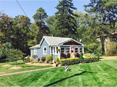 Chagrin Falls Single Family Home For Sale: 18646 Mount Pleasant Dr