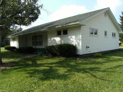 Guernsey County Single Family Home For Sale: 176 Pearl Ave