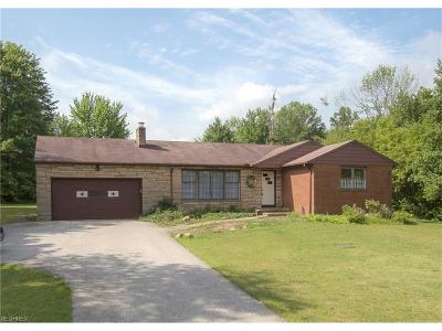 Russell Single Family Home For Sale: 7765 Dines Rd