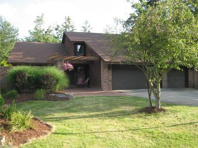 Deerfield Woods Single Family Home For Sale: 16835 Willow Wood Dr